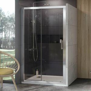 Sprchový kout 100x190 cm Ravak 10° chrom matný 0ZVA0U00Z1