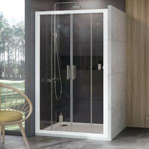 Sprchové dveře 180x190 cm Ravak 10° bílá 0ZKY0100Z1