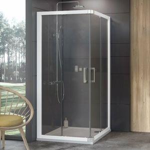 Sprchový kout 80x190 cm Ravak 10° bílá 1ZI40100Z1