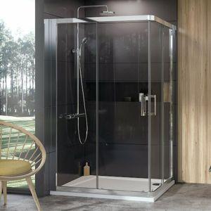 Sprchový kout 100x190 cm Ravak 10° chrom lesklý 1ZJA0C00Z1