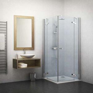 Sprchové dveře 80x201,7 cm pravá Roth Elegant Line chrom lesklý 132-800000P-00-02