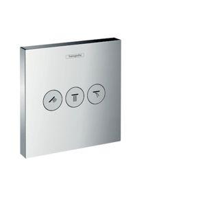 HANSGROHE Shower Select Ventil pod omítku pro 3 spotřebiče, chrom (15764000)