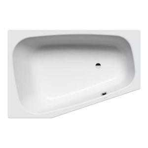 Asymetrická vana Kaldewei Plaza 180x43 cm smaltovaná ocel alpská bílá 237010223001