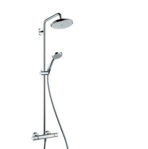 Sprchový systém Hansgrohe Croma na stěnu s termostatickou baterií chrom 27185000