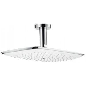Hlavová sprcha Hansgrohe Puravida strop včetně sprchového ramena bílá/chrom 27390400
