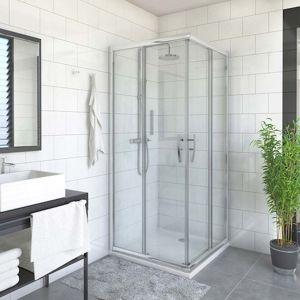 Sprchové dveře 90x185 cm levá Roth Proxima Line chrom lesklý 537-9000000-00-15