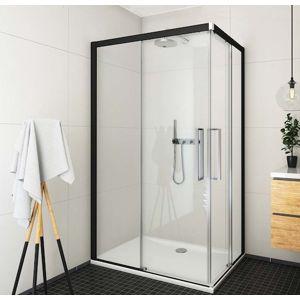 Sprchové dveře 120x205 cm levá Roth Exclusive Line černá matná 560-120000L-05-02