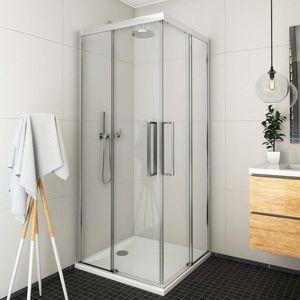 Sprchové dveře 80x205 cm levá Roth Exclusive Line chrom lesklý 560-800000L-00-02