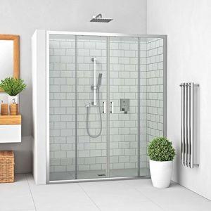 Sprchové dveře 160x190 cm Roth Lega Line chrom lesklý 574-1600000-00-02