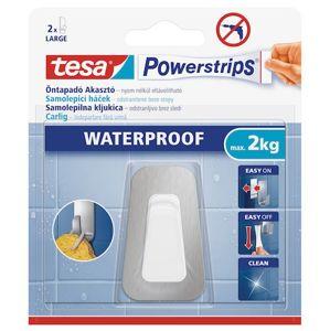 Háček Tesa Powerstrips bílá/chrom 59784-00003-00