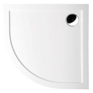 Sprchová vanička čtvrtkruhová Polysan Sera 80x80 cm 61111