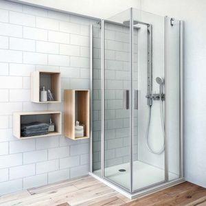 Sprchové dveře 100x201,9 cm Roth Tower Line chrom lesklý 724-1000000-00-02