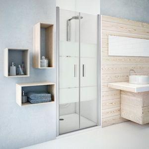 Sprchové dveře 100x201,2 cm Roth Tower Line chrom matný 731-1000000-01-20