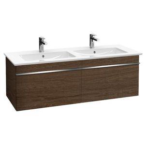 Koupelnová skříňka pod umyvadlo Villeroy & Boch Venticello 125,3x50,2x42 cm dub Santana A93901E1