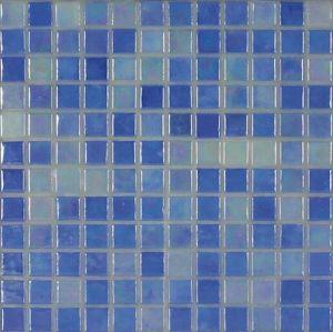 Skleněná mozaika Mosavit Acquaris Celeste 30x30 cm lesk ACQUARISCE