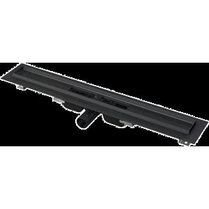 Alcaplast Low-Podl.žlab okraj,k perf.roštu,černáM APZ101BLACK-550