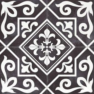 Dlažba Peronda Ayala black reverse 45x45 cm mat AYALABKR