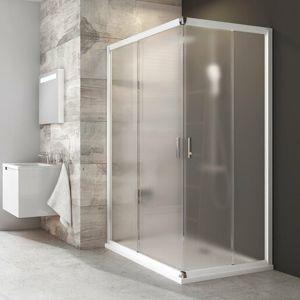 Sprchový kout 100x190 cm Ravak Blix bílá 1XVA0100ZG