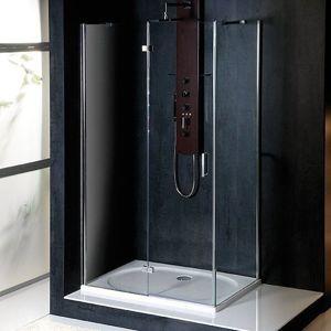 Polysan VITRA LINE zástěna, obdélník 1200x900mm, levá, čiré sklo,BN5615L