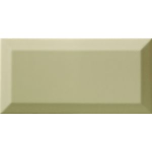 Obklad Ribesalbes Chic Colors olive bisel 10x20 cm lesk CHICC1641