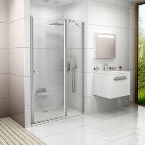 Sprchové dveře 110x195 cm Ravak Chrome chrom matný 0QVDCU00Z1