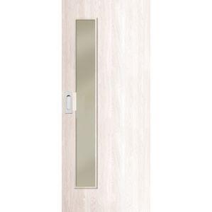 Interiérové dveře Naturel Deca posuvné 80 cm borovice bílá posuvné DECA10BB80PO