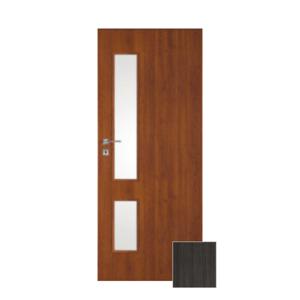 Interiérové dveře Naturel Deca pravé 60 cm jilm antracit DECA20JA60P