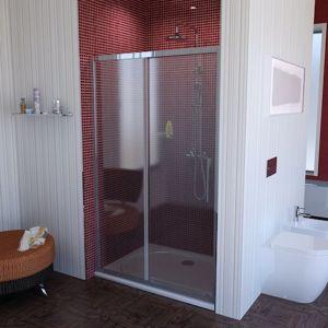 Sprchové dveře 110x200 cm Polysan LUCIS chrom lesklý DL1115