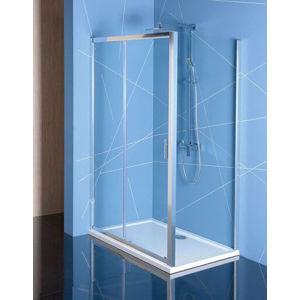 Sprchový kout obdélník 110x80x200 cm Polysan Easy chrom lesklý EL1115EL3215