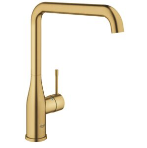 Dřezová baterie Grohe Essence New s otočným raménkem Brushed Cool Sunrise 30269GN0