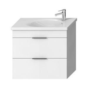 Koupelnová skříňka pod umyvadlo Jika Tigo N 77x36,3x70,5 cm bílá H40J2154015001
