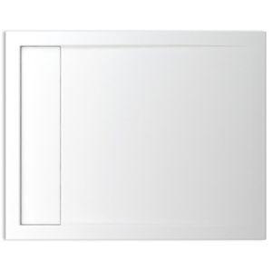 Teiko vanička HERCULES 100x 80 bílá s odtokovým žlábkem V132100N32T06801