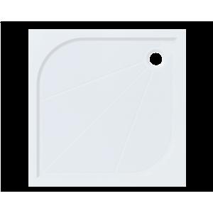 Sprchová vanička čtvercová Siko Limnew 80x80 cm litý mramor LIMNEW80Q