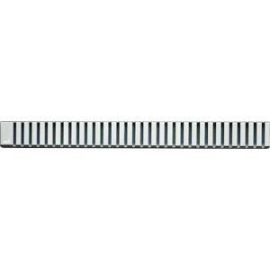 Rošt Alcaplast 30 cm nerez lesk zebra LINE-300L