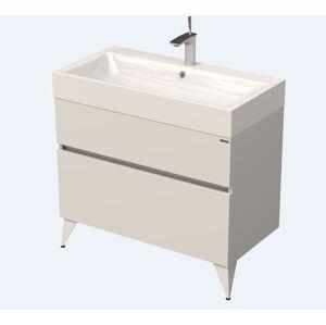 Koupelnová skříňka pod umyvadlo Naturel Luxe 90x56x46 cm bílá mat LUXE90BMBU