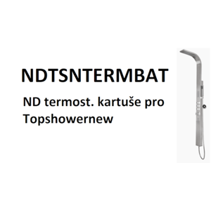 ND termost. kartuše pro Topshowernew NDTSNTERMBAT