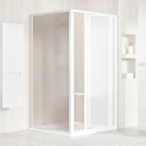 Boční zástěna ke sprchovým dveřím 75x188 cm Ravak Supernova bílá 9403010011