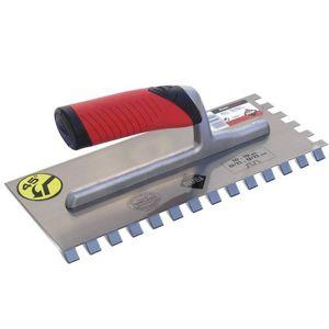 ocelové hladítko zub 10x10mm MRA 45° R75948