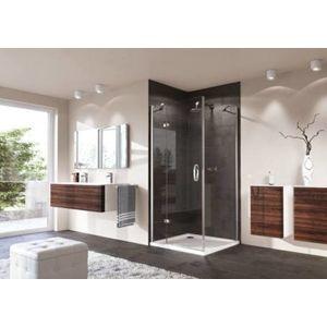 Sprchové dveře Huppe Strike jednokřídlé 90 cm, čiré sklo, chrom profil, levé SIKOSTRIKE90LST100