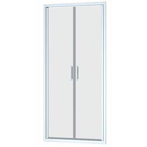 Sprchové dveře Siko TEXL 90 cm, čiré sklo, chrom profil, univerzální SIKOTEXL90CRT