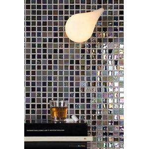 Skleněná mozaika Mosavit Sundance negro 30x30 cm mat / lesk SUNDANCENE