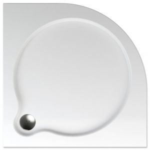 Sprchová vanička čtvrtkruhová Teiko Vesta 90x90 cm akrylát V131090N32T07001