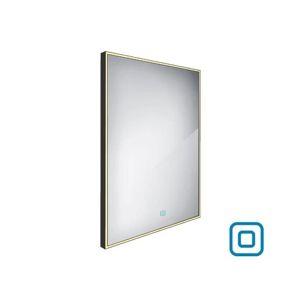 Zrcadlo se senzorem Nimco 60x80 cm černá ZPC 13002V-90